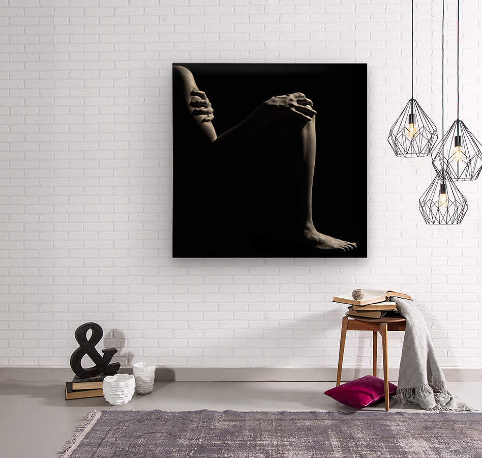 Nude woman fine art 6  Wood print