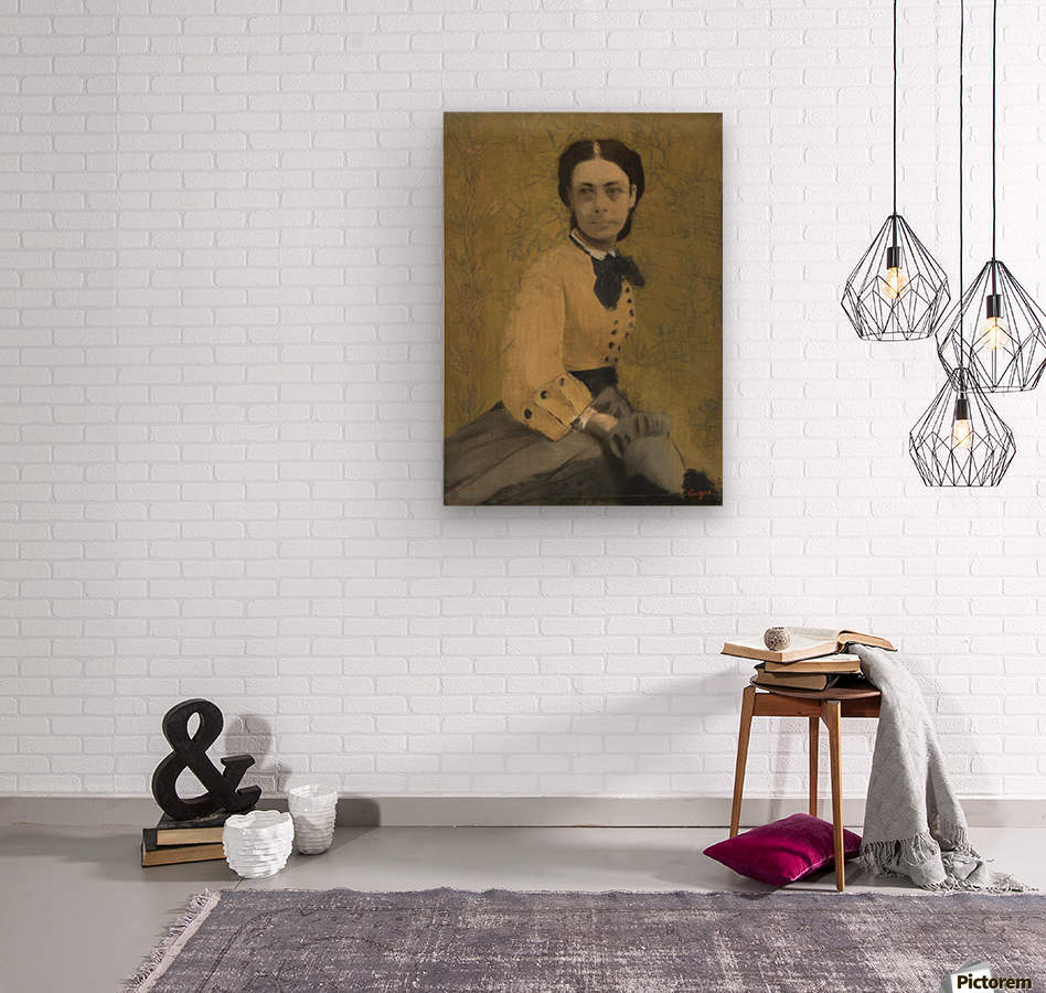 Princess Pauline de Metternich  Wood print