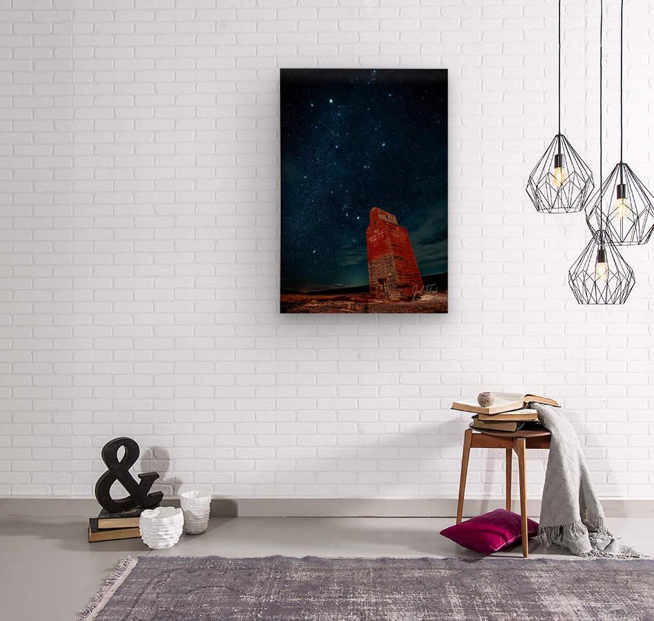 Dorothy Elevator Milky Way  Wood print