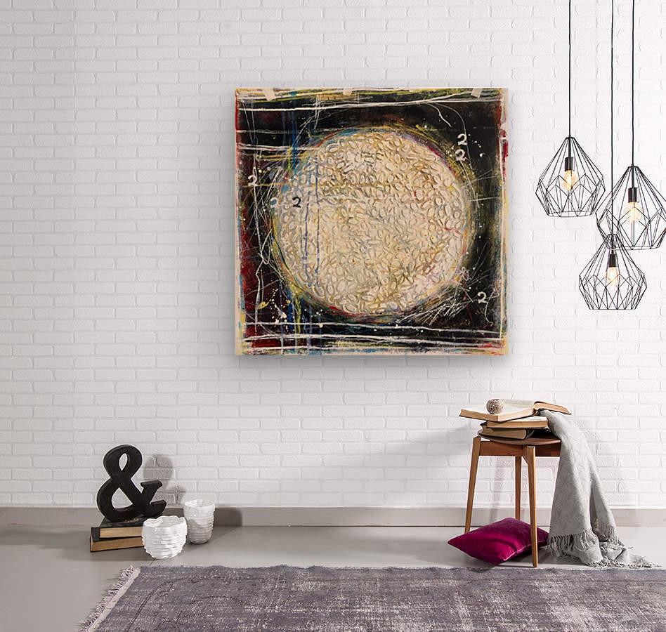 cercle de vie 1  Impression sur bois