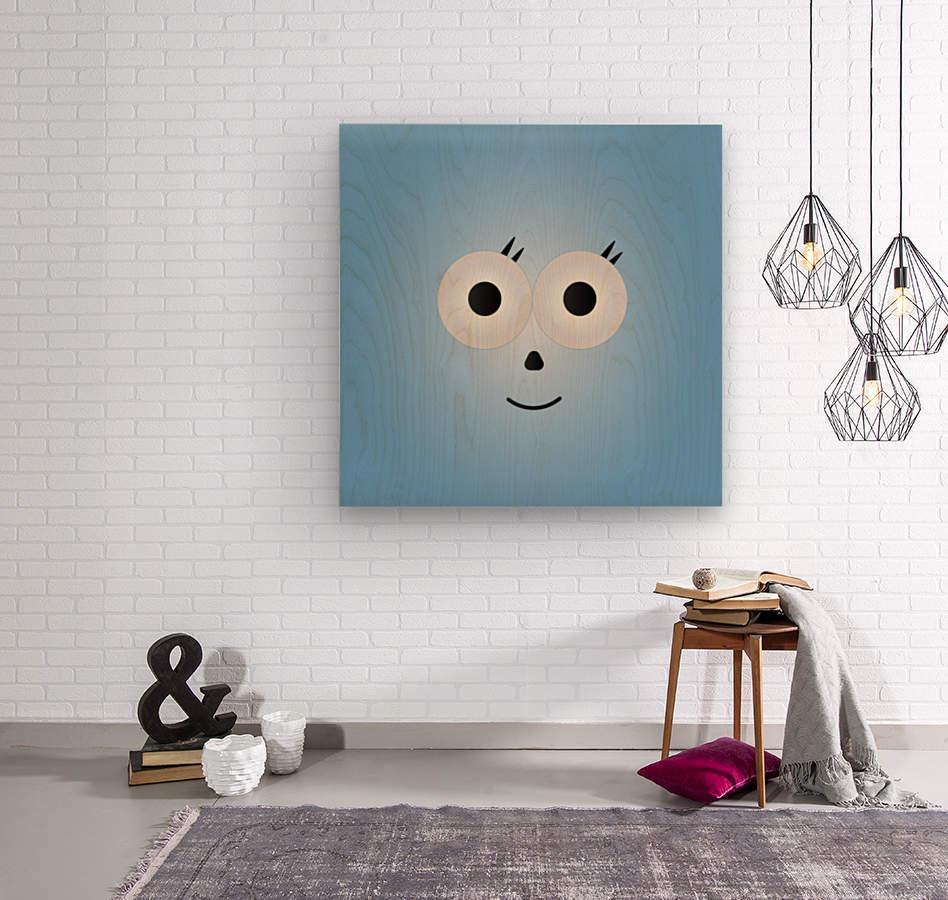 Simply Cutie   Wood print