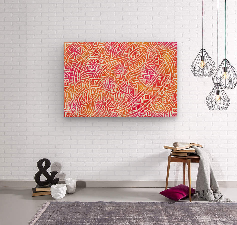 Tropical Reverie   Wood print