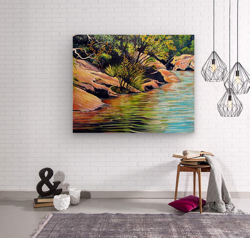 Jellybean Pool Australia  Wood print
