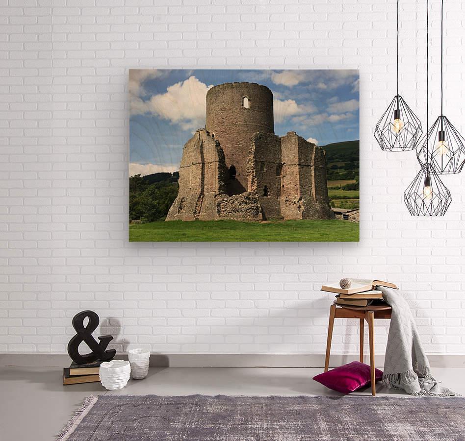 Treetower-Castle-Wales-1  Wood print