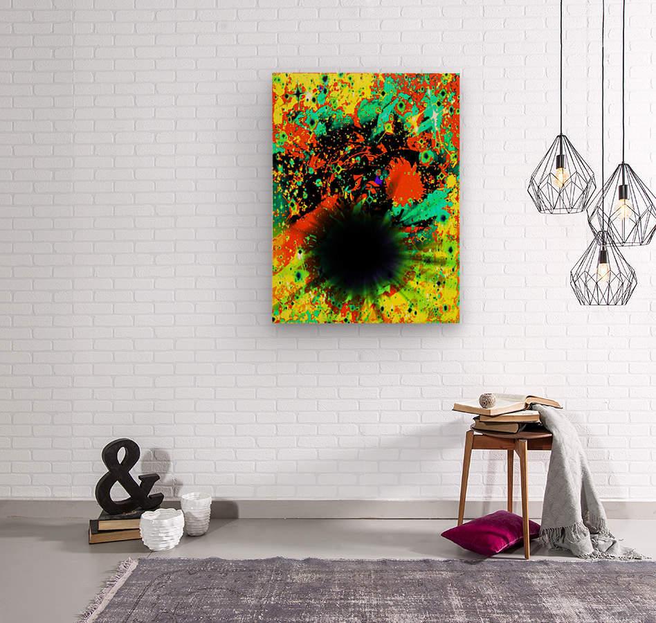 Blight  Wood print