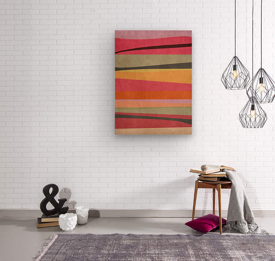 Abstract Composition 776  Wood print