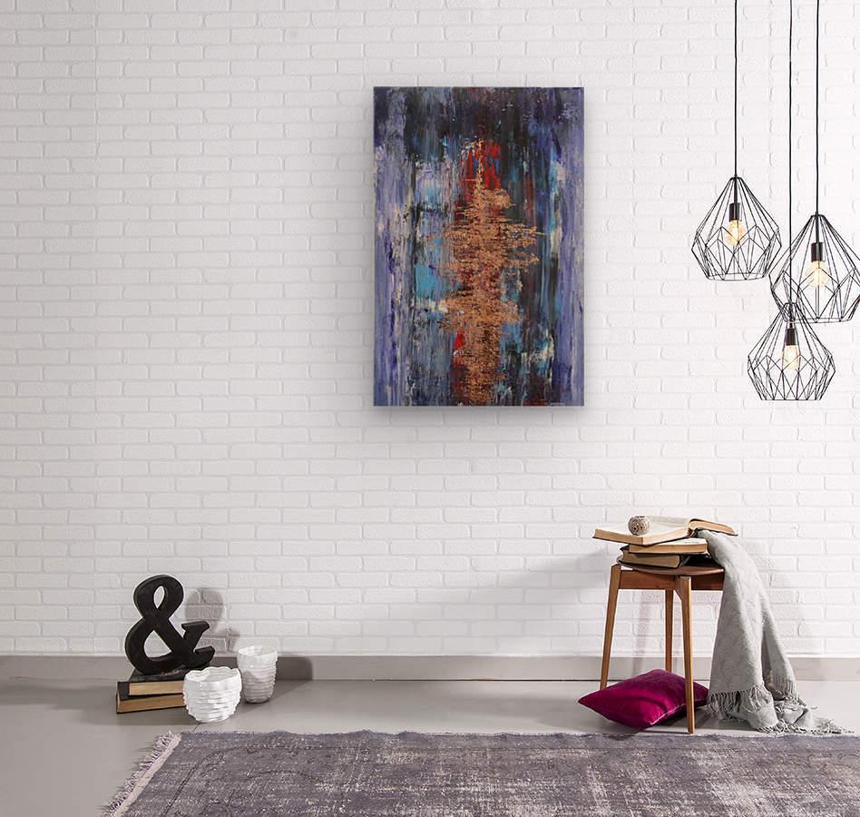 Ingot  Wood print