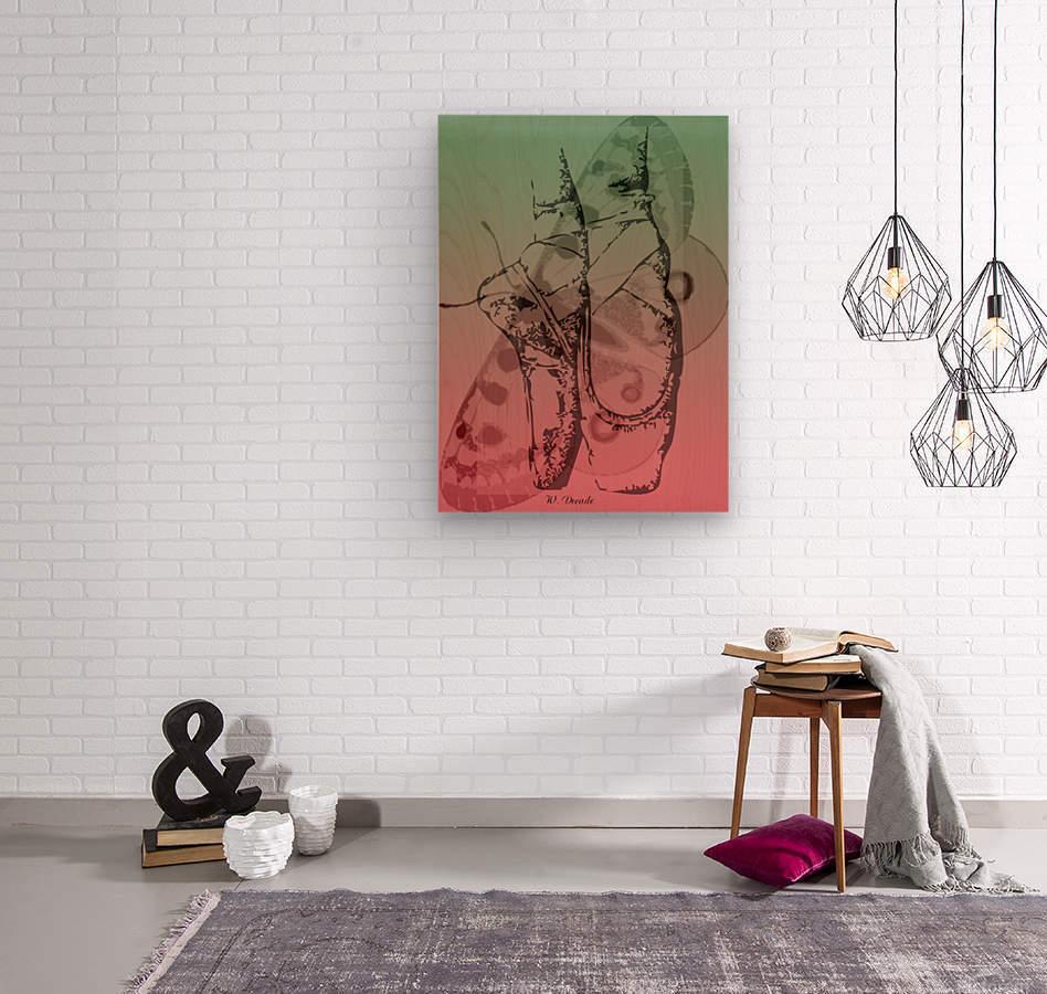 Digital Collage 2  Wood print