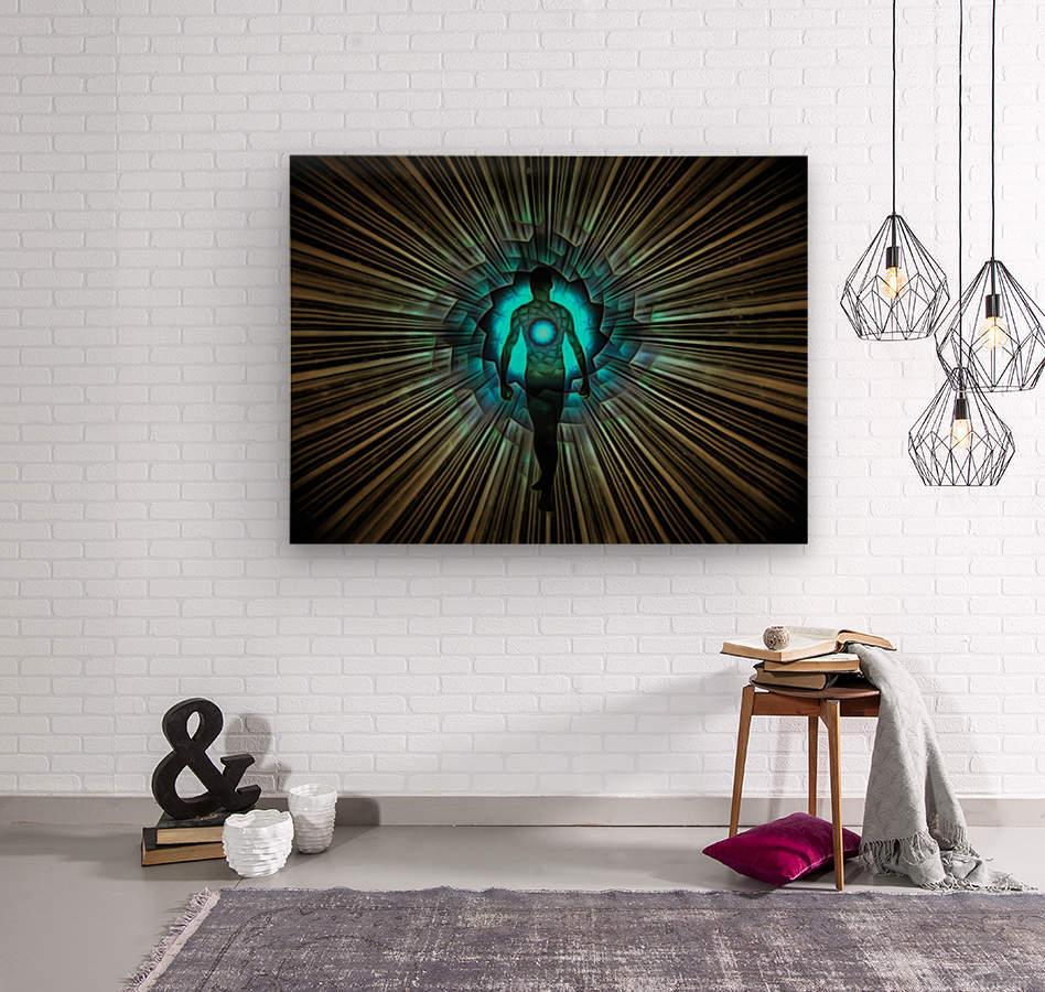 Aura or Soul  Wood print
