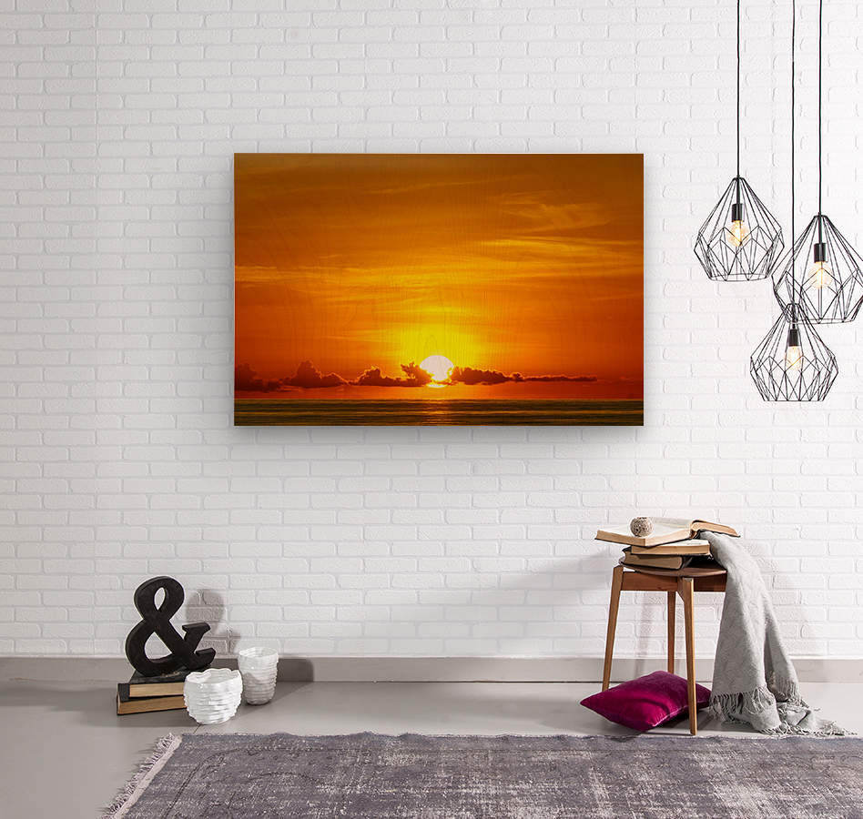 Cayman Sky Art  Wood print