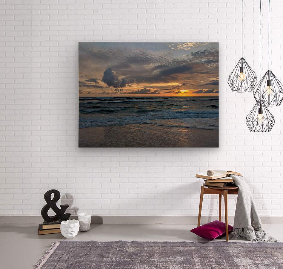 Eleuthera Waves  Wood print