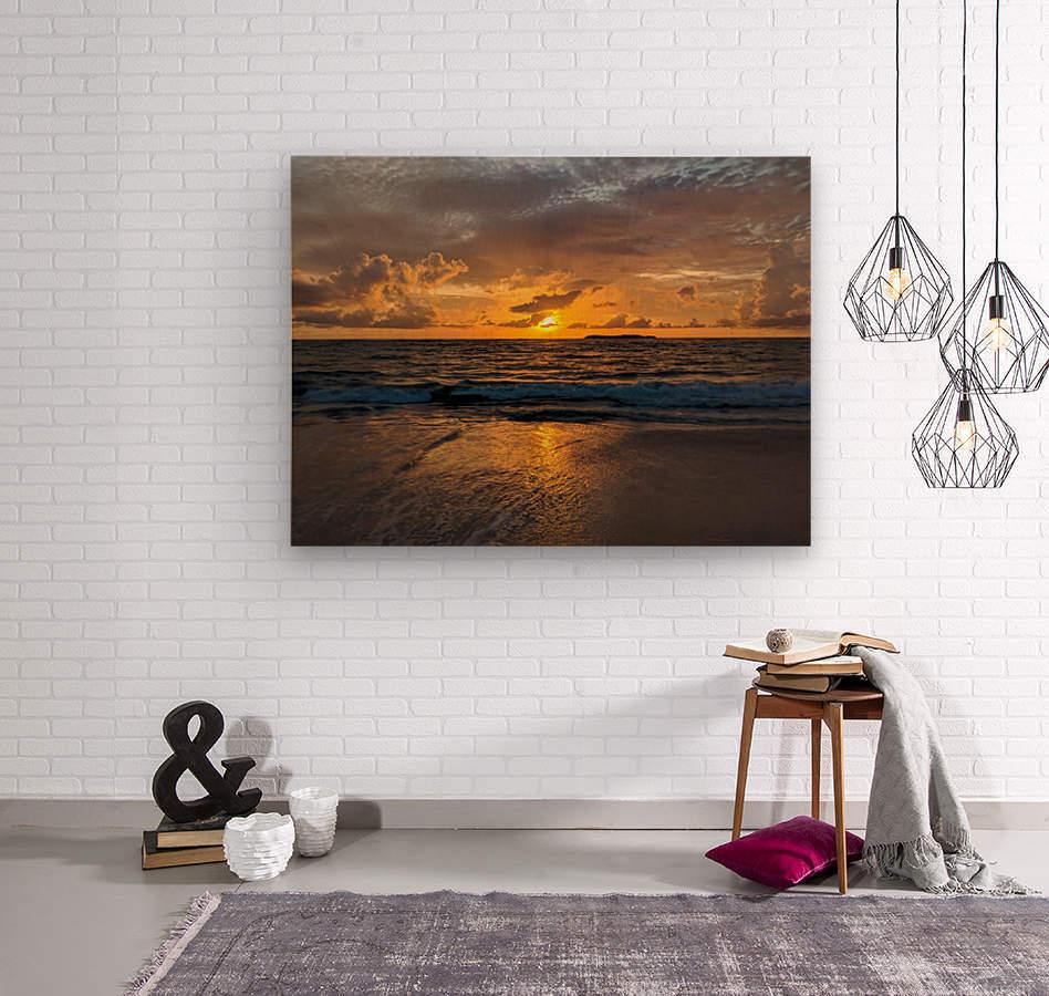 Eleuthera Sunrise  Wood print