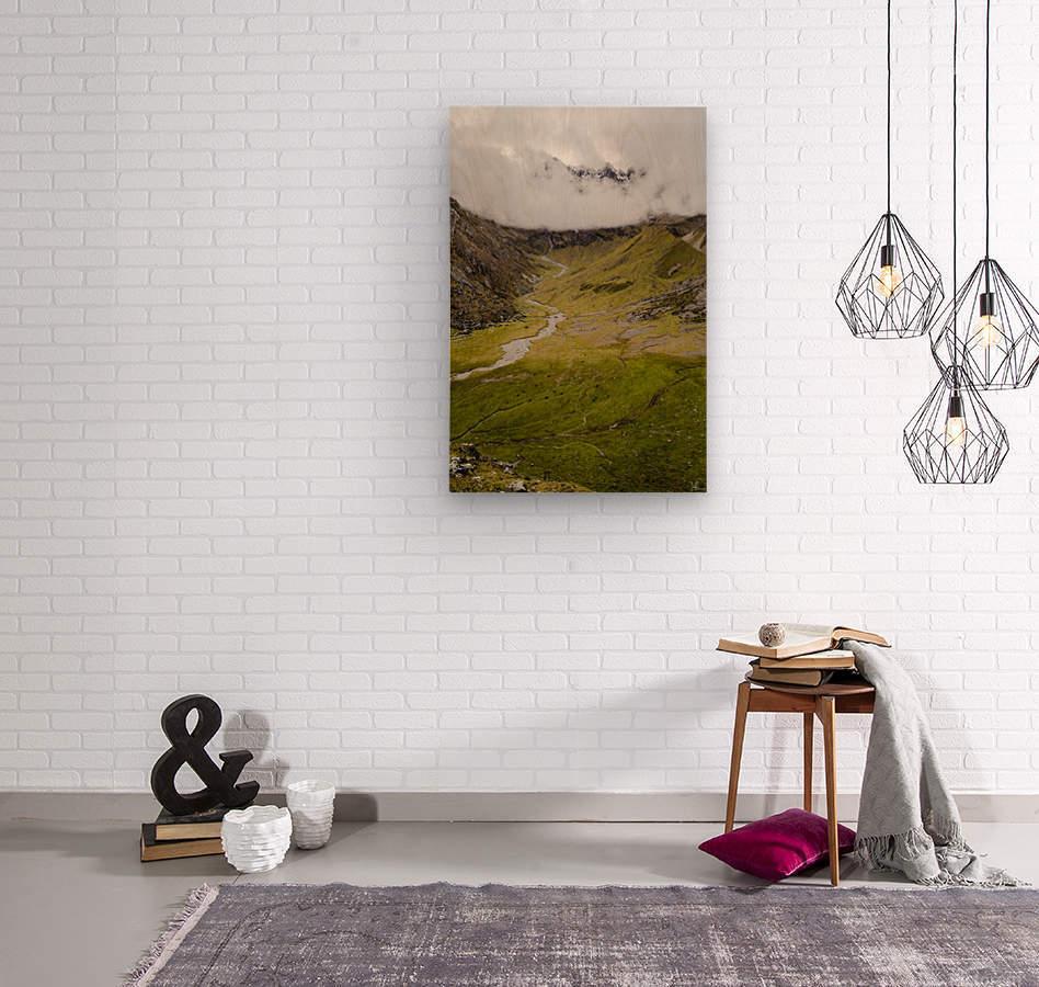 Cusco Valley  Wood print