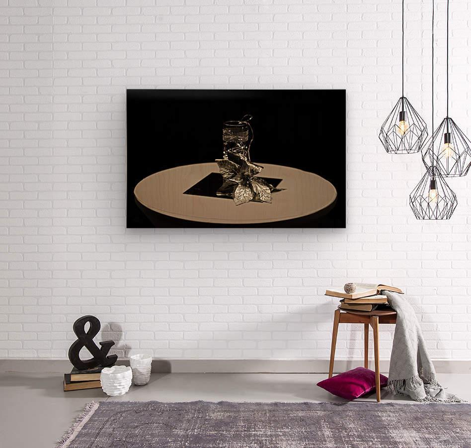 Crystalline Floret  Wood print