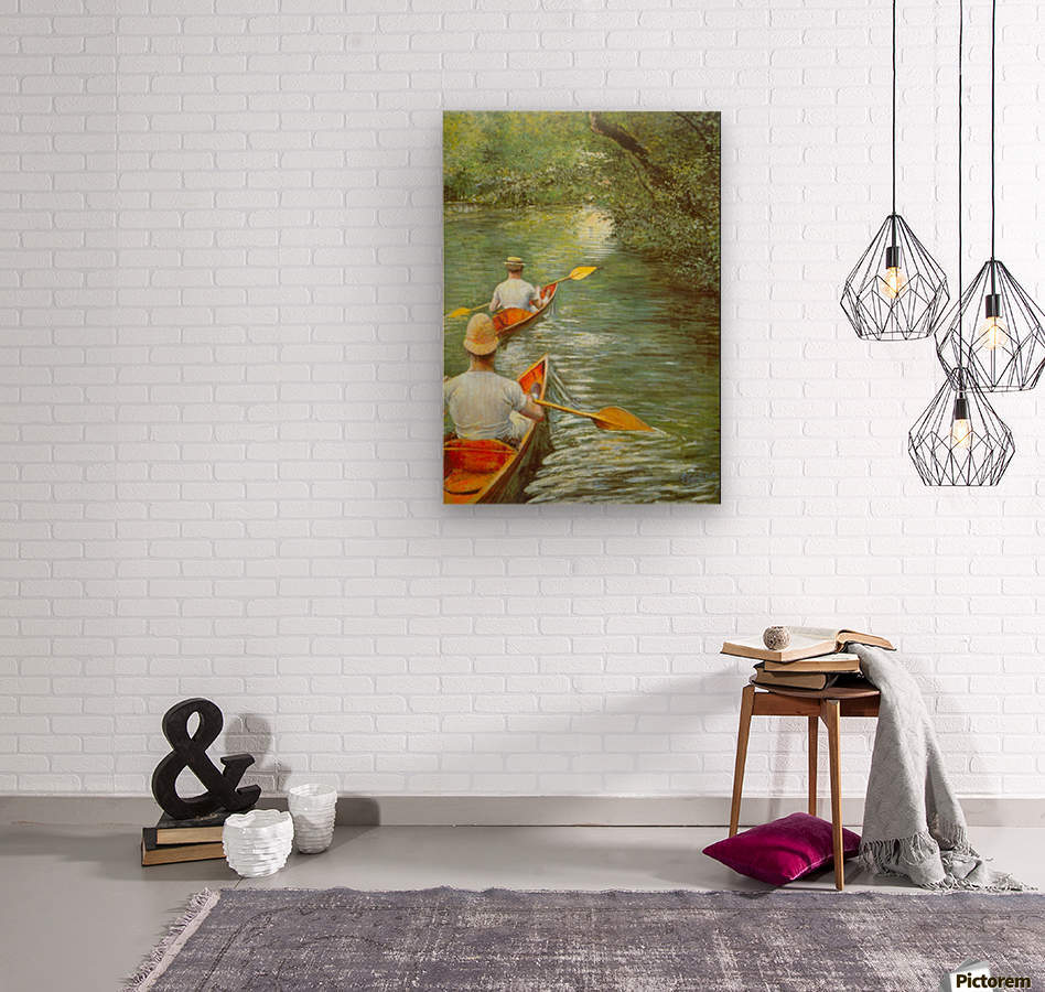 Candeling by Cailebotte  Wood print