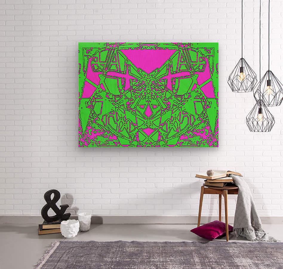 Talis  Wood print