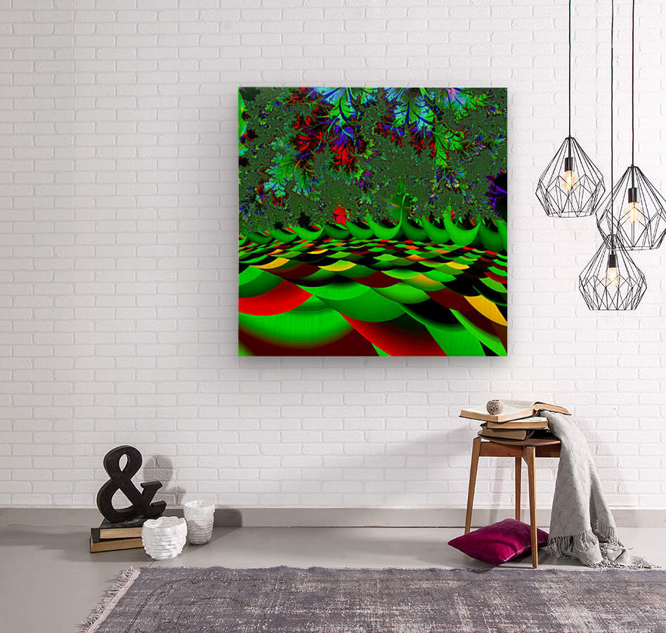 Garden_of_Eden_1  Wood print