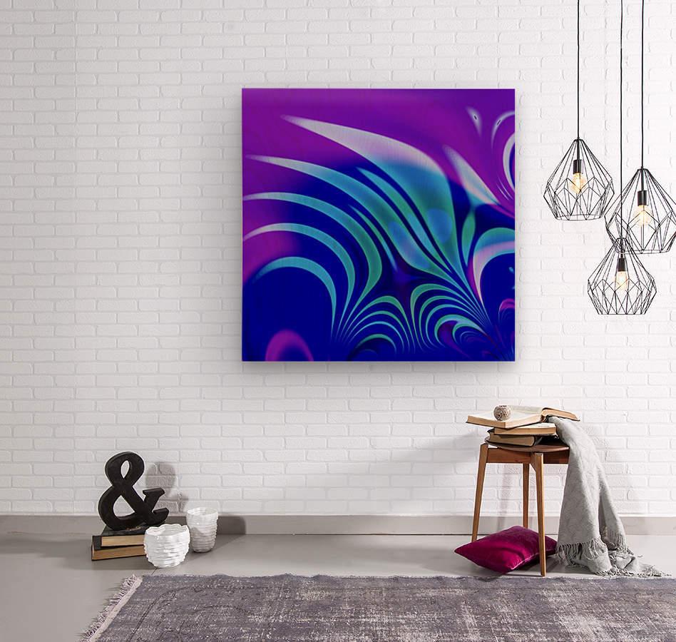 Enchanted_Swamp_Series  Wood print