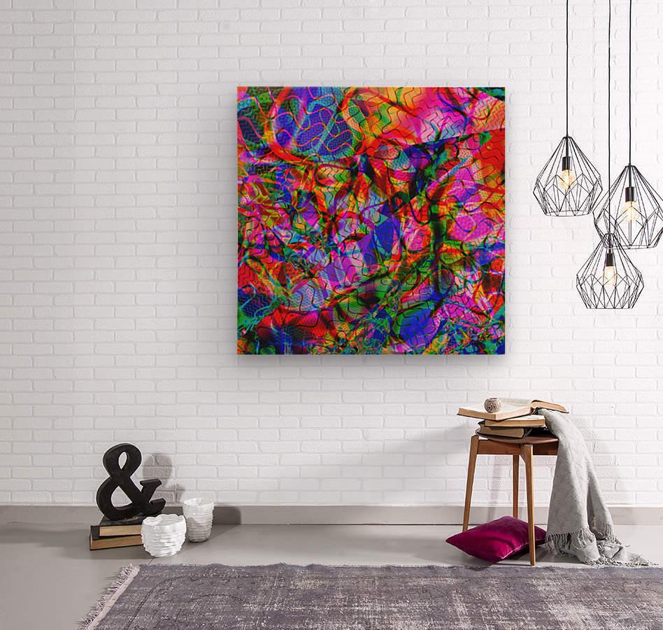Jazz_Fusion_Series_2  Wood print
