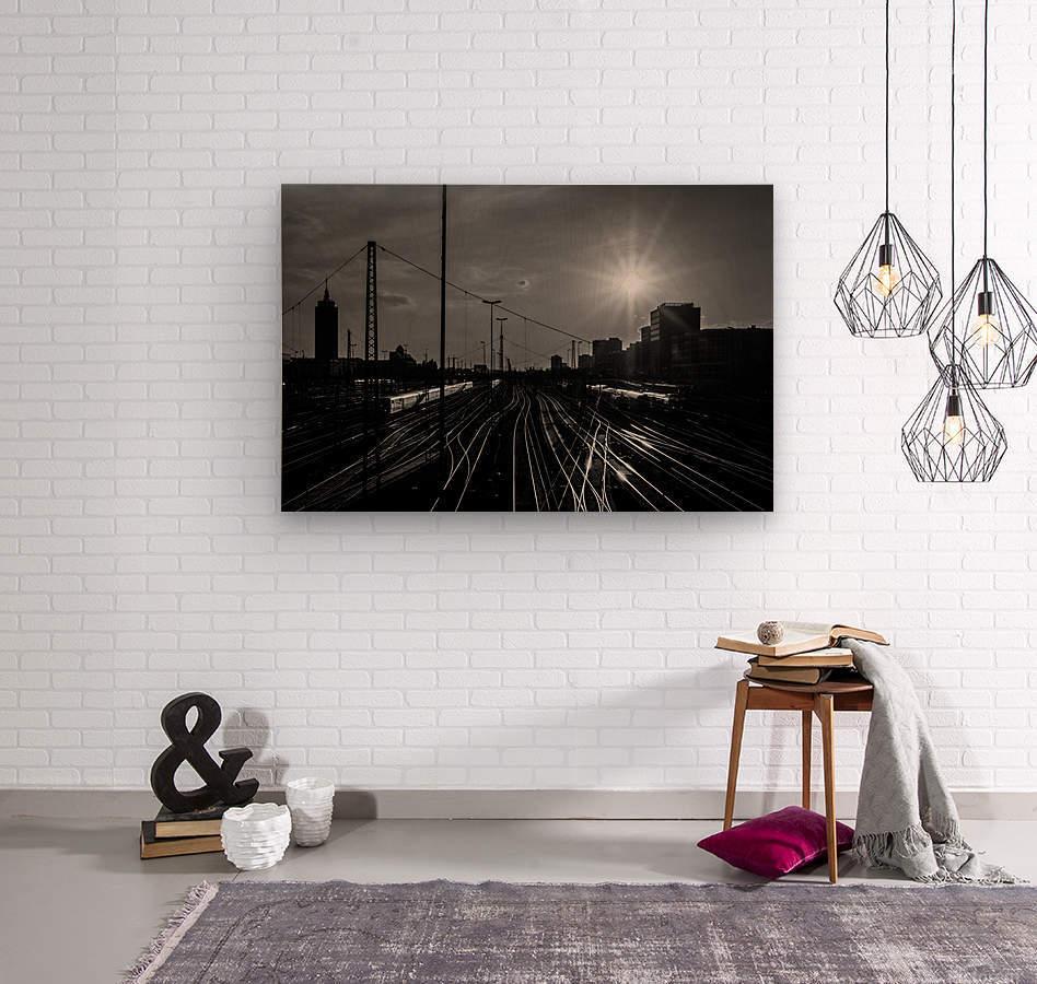 German Rails  Wood print