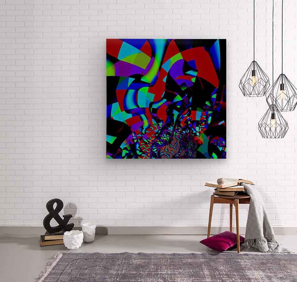 Jazz_Fusion_Series_1  Wood print