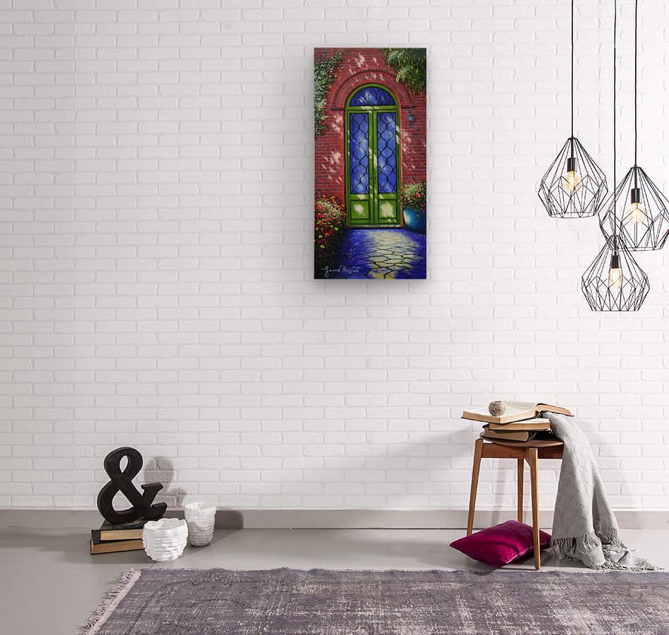 Path of Light  Wood print
