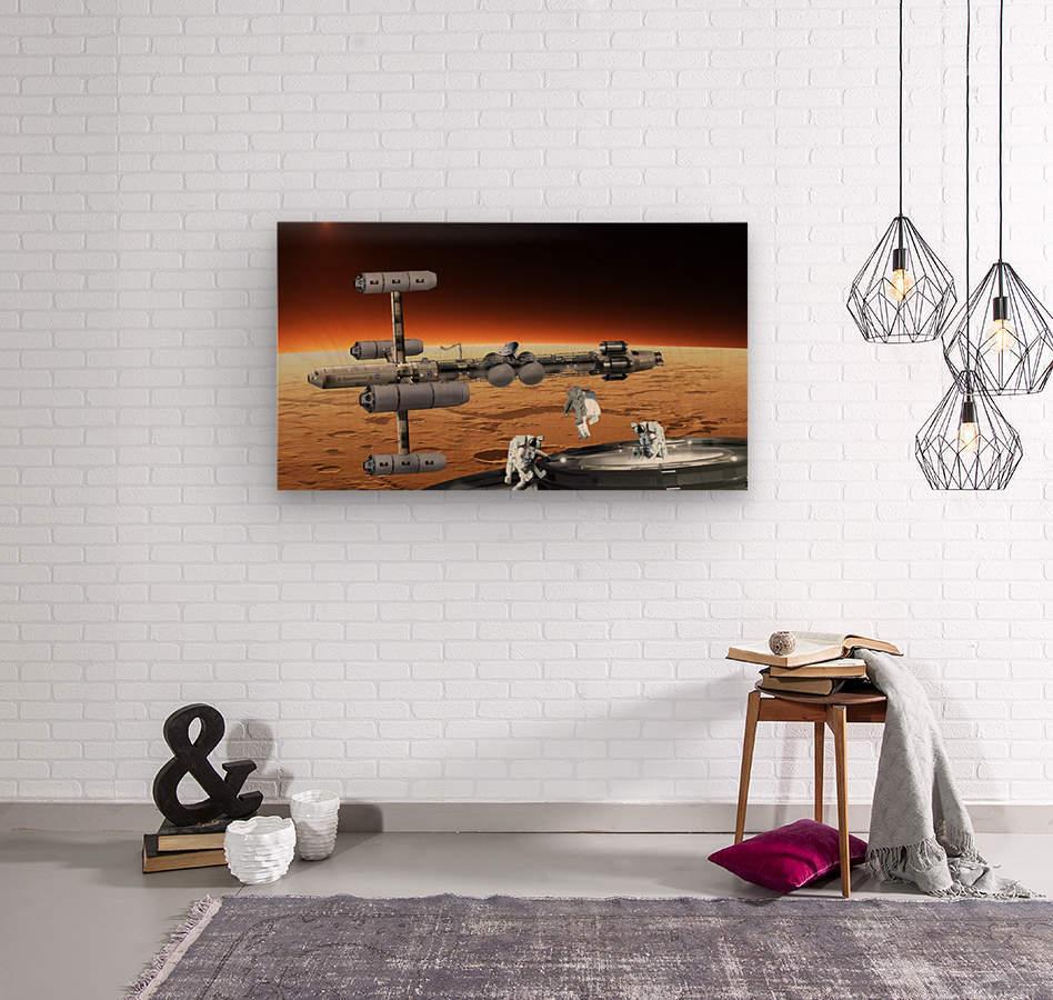 Copernicus at Mars  Wood print