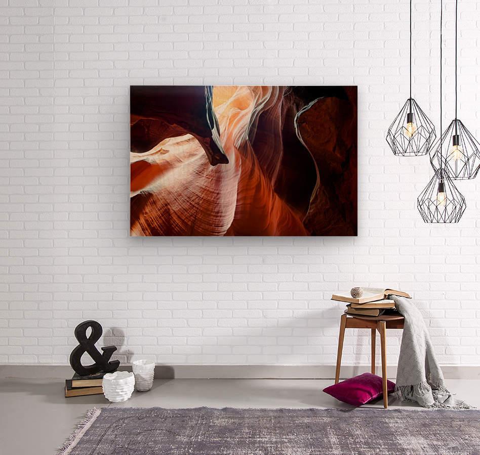 Upper Antelope Canyon 3  Wood print