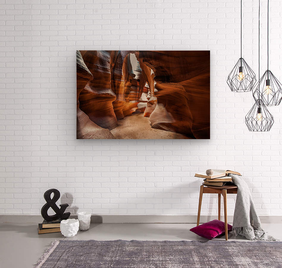Upper Antelope Canyon 9  Wood print