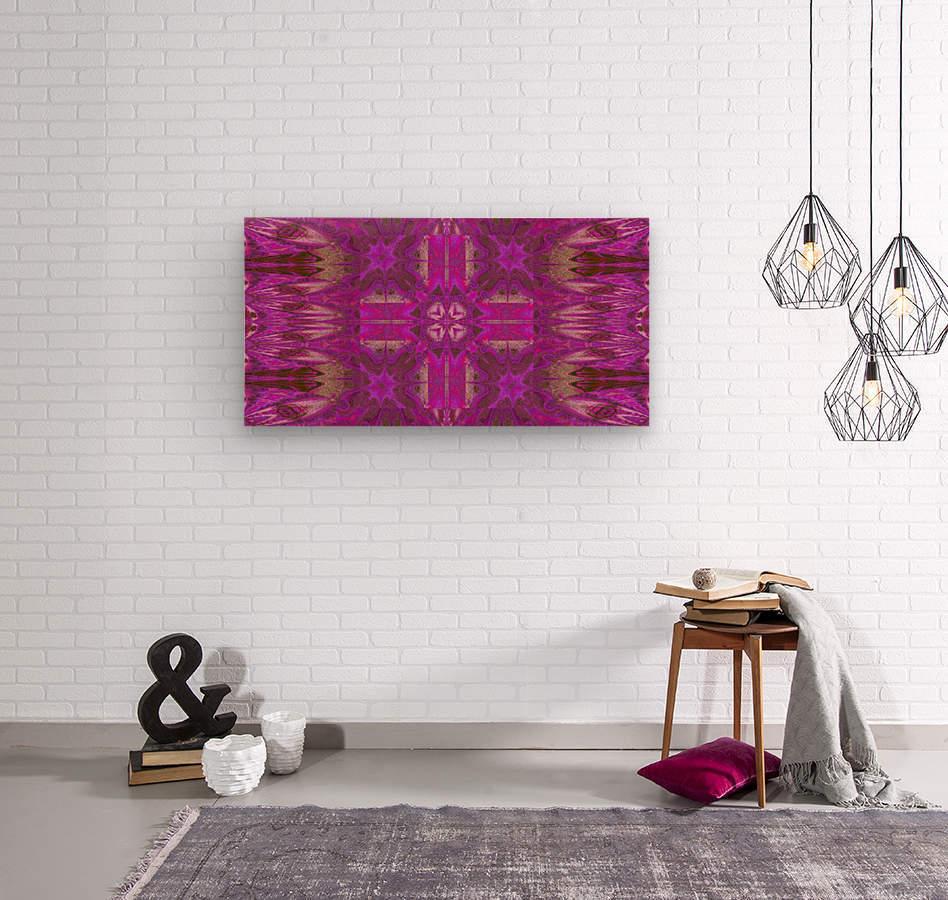 Stone Light Flower 5  Wood print