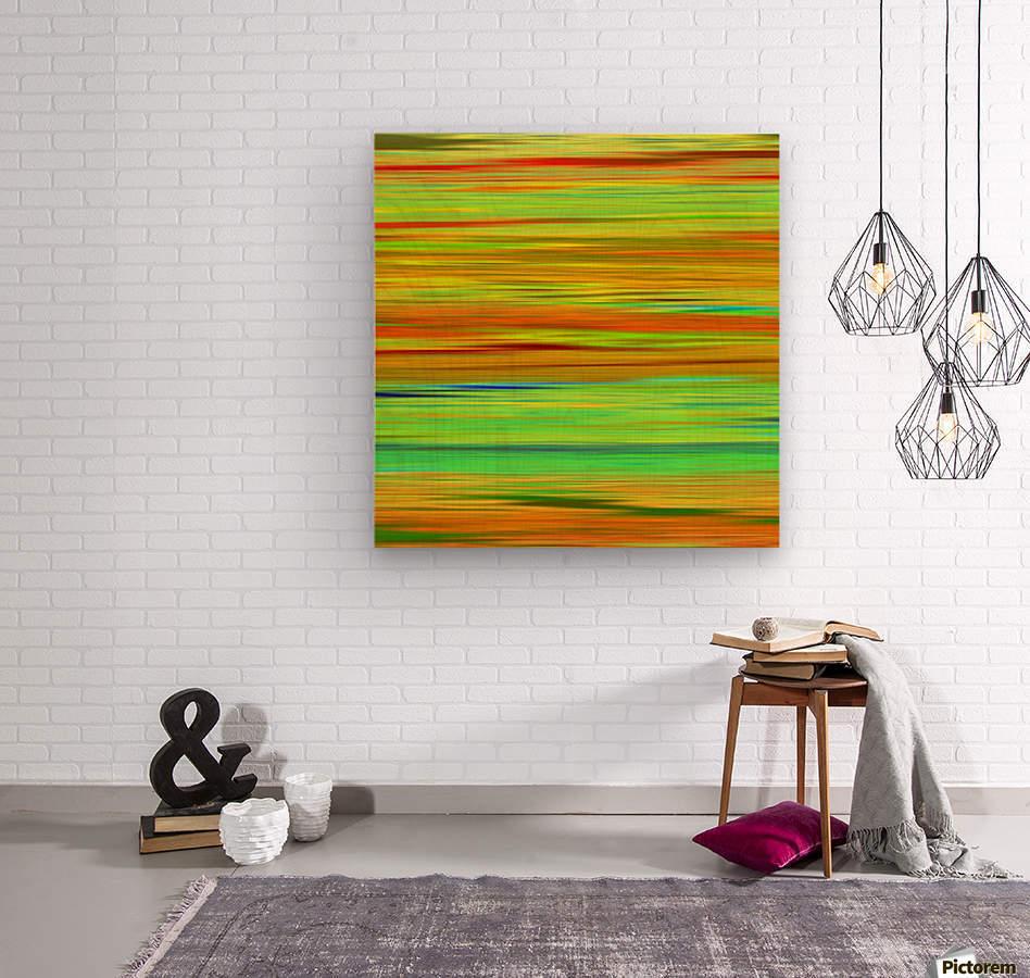 Golden Moment  Wood print