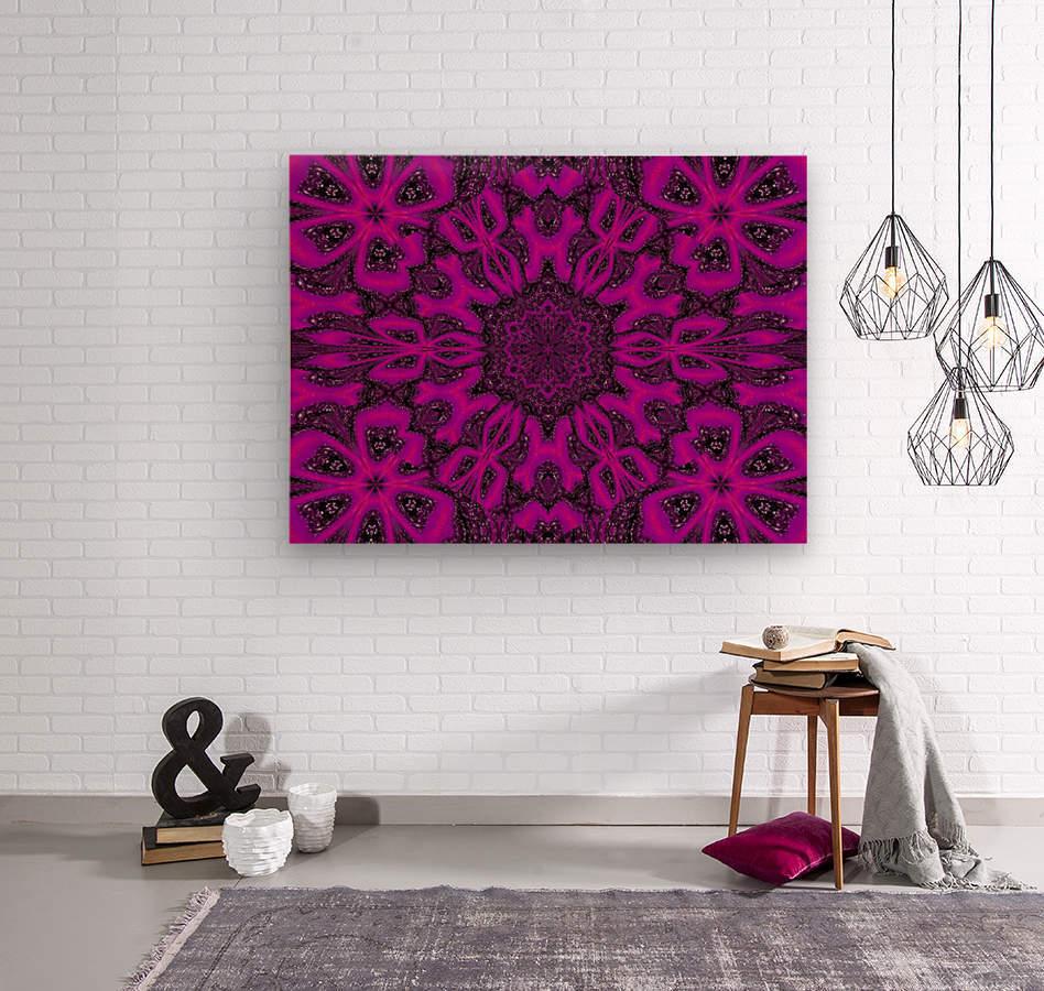 Purple Desert Song 38  Wood print
