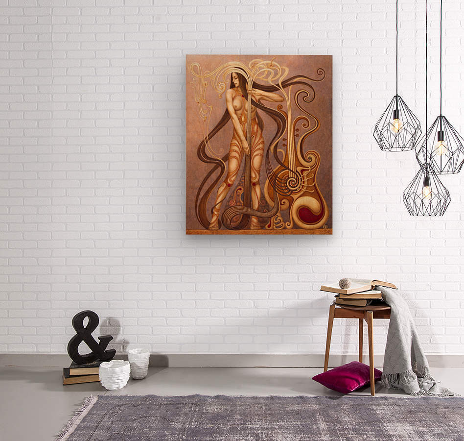 MYSTERIUM  Wood print