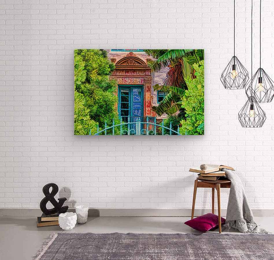 Beyond The Gate   Wood print