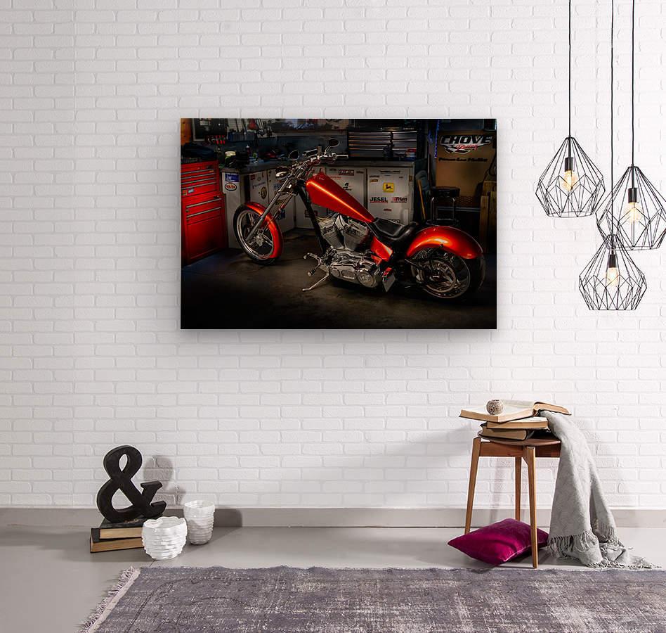 Bike Edit  Wood print