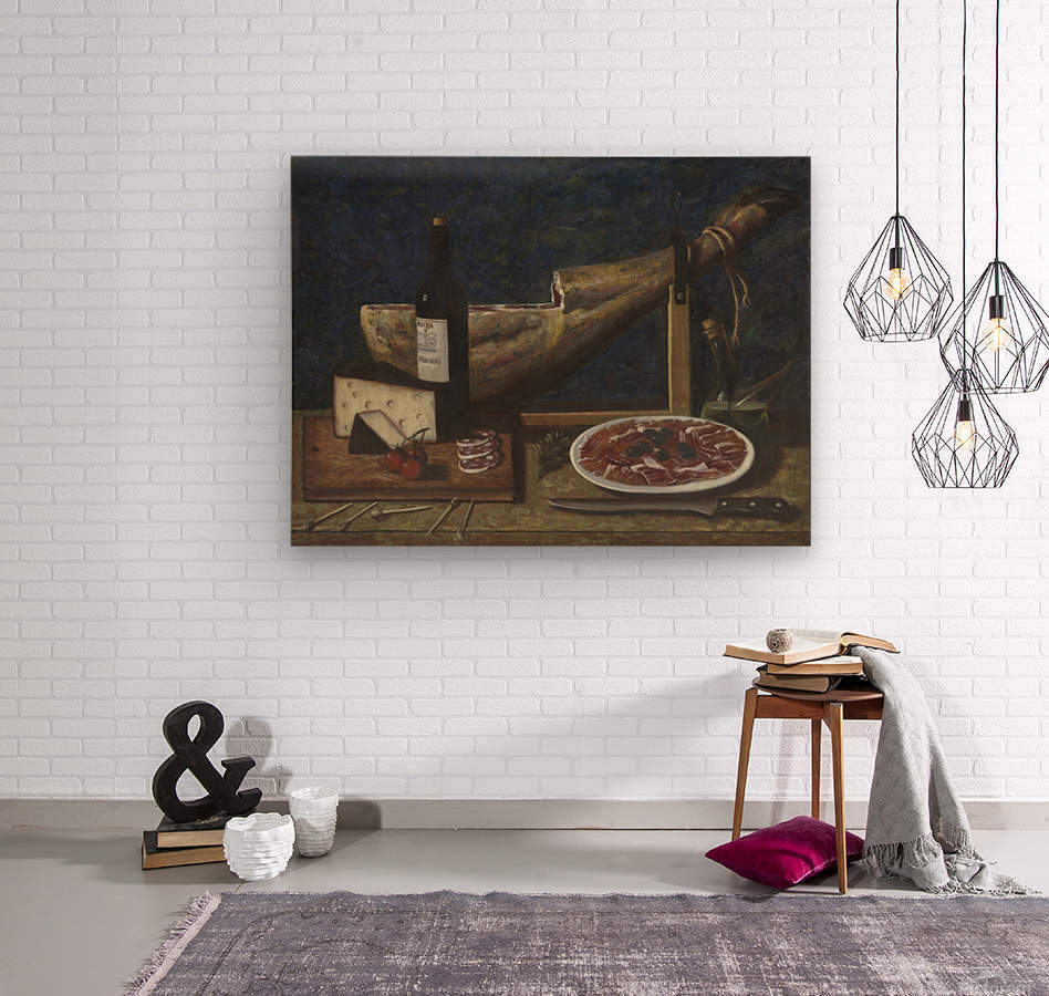 Jamon  Wood print