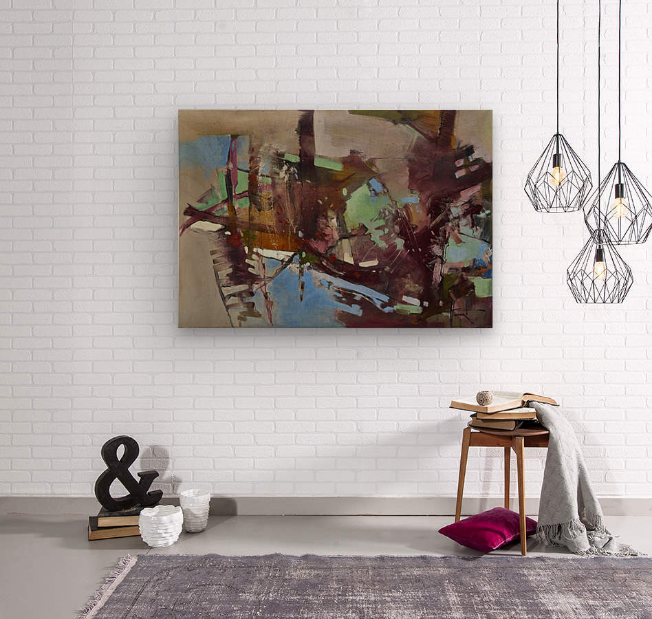 ALXF0005  Wood print
