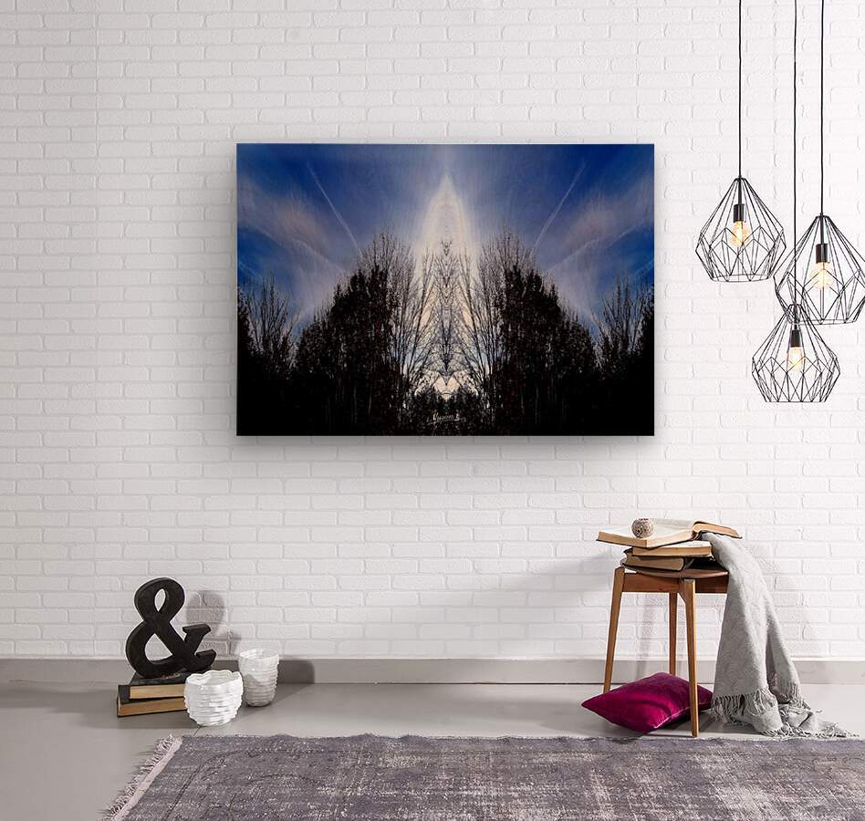 nube 56  Wood print