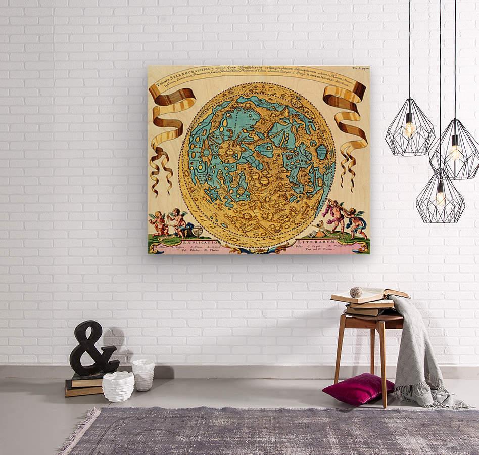 Ancient World Map 11  Wood print