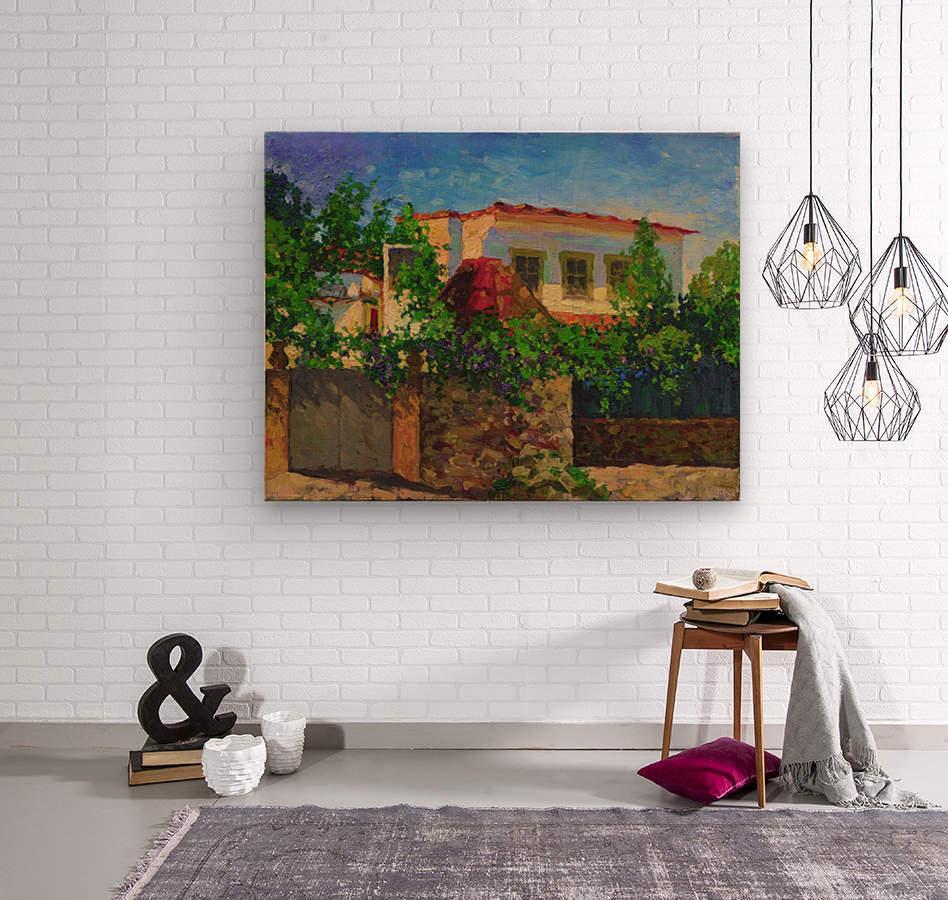 Little_Spanish_House  Wood print
