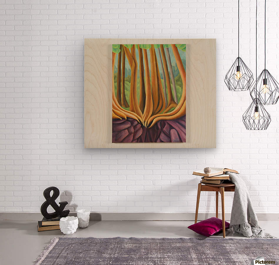 Cedar Edge  Wood print