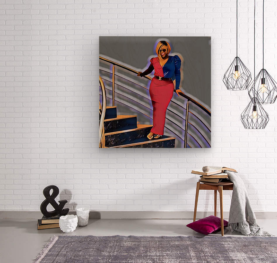 Balustrade  Wood print