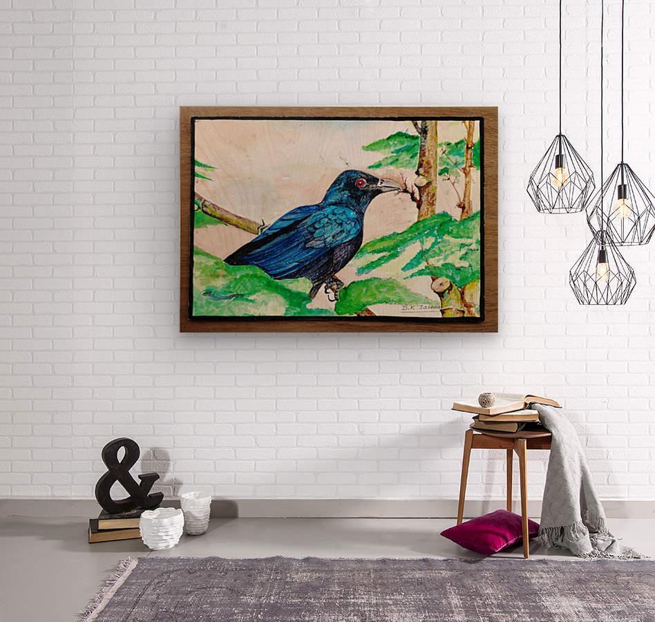 Koyal_DKS  Wood print
