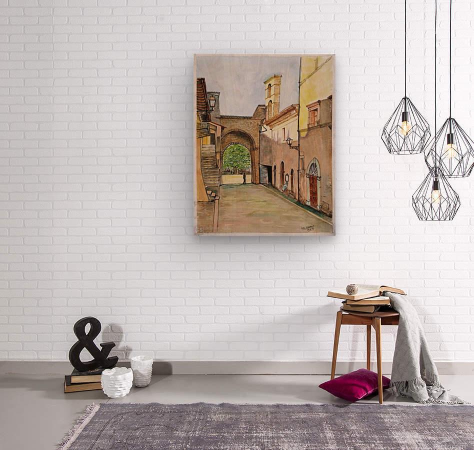 City Gate _DKS  Wood print