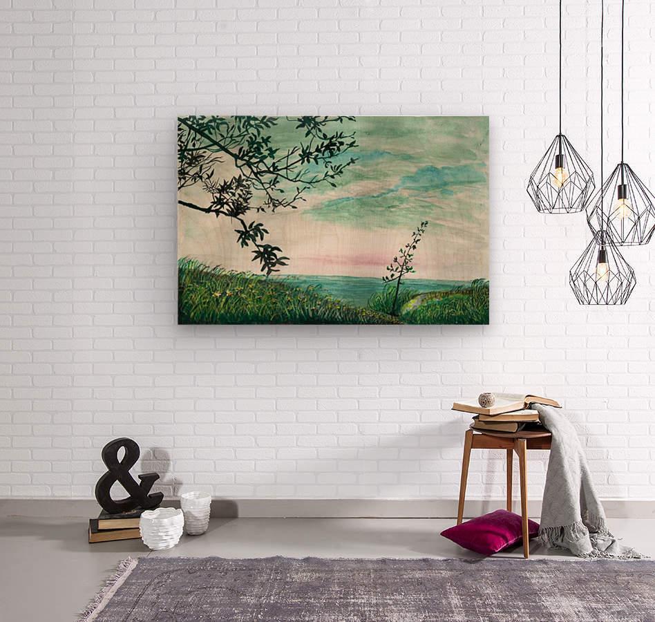 Landscape_DKS3  Wood print