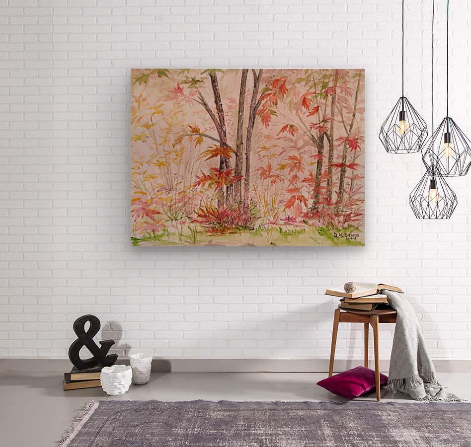 Autumn_DKS  Wood print