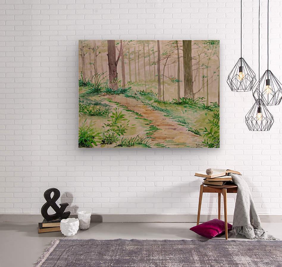Landscape_DKS_2  Wood print