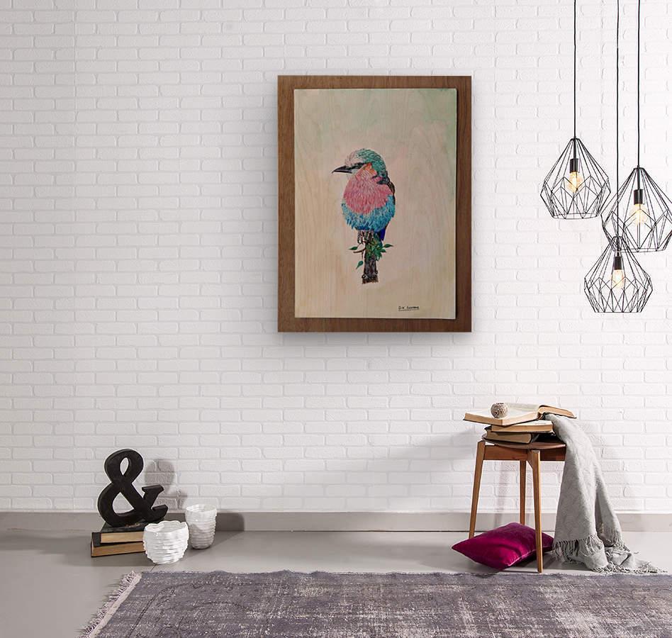 Robin_DKS  Wood print