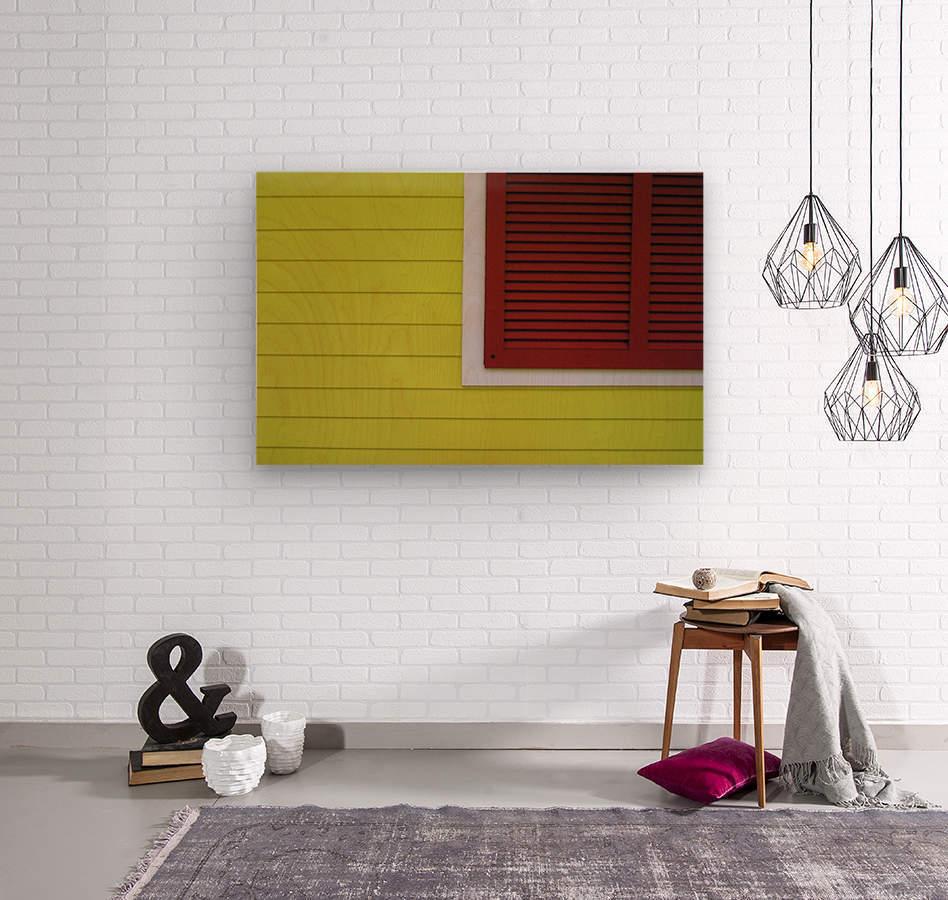 Abstract Art Print  Wood print
