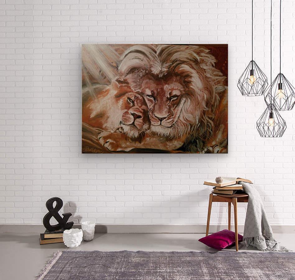 Leos.Fondness  Wood print